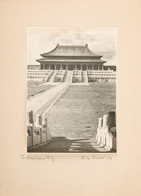 MORRISON, HEDDA HAMMER (1908-1991)  [China. The Forbidden City], 1930s