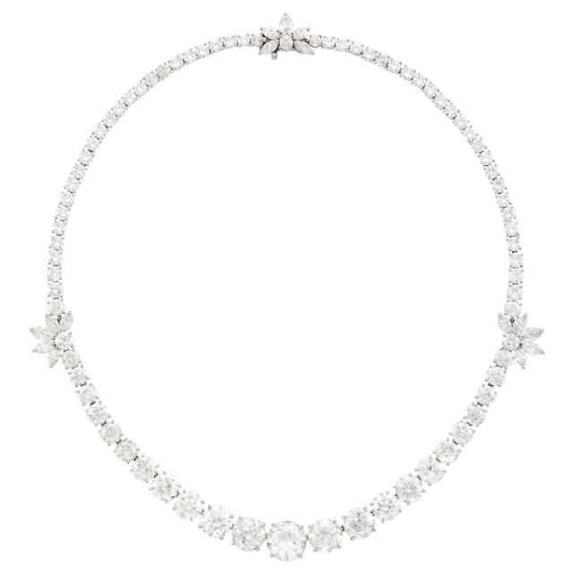 Cartier Platinum and Diamond Necklace