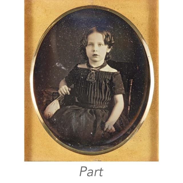 [DAGUERREOTYPE-CHILDREN]  Three images.