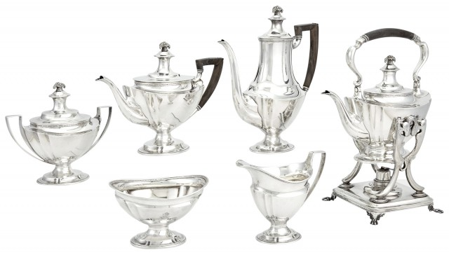Tiffany and Co. Sterling Silver Tea and Coffee Service