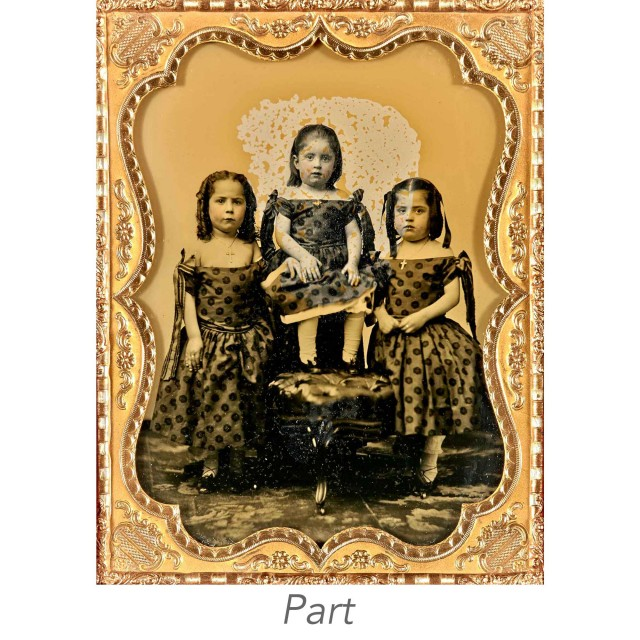 [DAGUERREOTYPE-CHILDREN]  Five images.