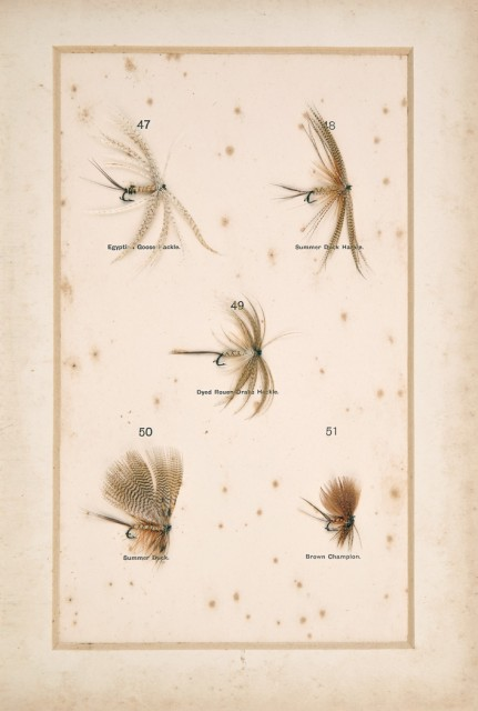 HALFORD, FREDERIC M.  Dry Fly Entomology, a brief description of the leading types of natural insects serving as food  for trout and grayling with the 100 best patterns of floating flies and the various methods of dressing them.