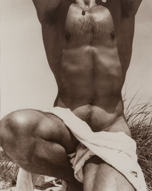 LYNES, GEORGE PLATT (1907-1955)  [Francisco Moncion, Fire Island],