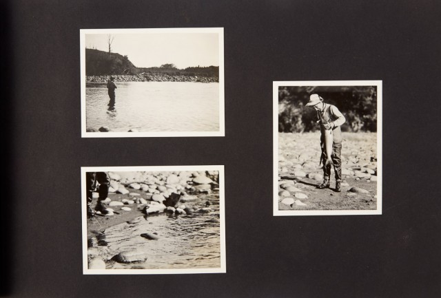 "[GREY, ZANE]  GREY, ROMER. Album of photographs labeled ""Album no. 2. Romer\'s pictures of New Zealand & South Sea Trip  Dec 28 1926-Aug 11 1927."""
