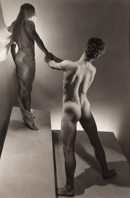 LYNES, GEORGE PLATT (1907-1955)  Group of two images. [Orpheus and Eros],