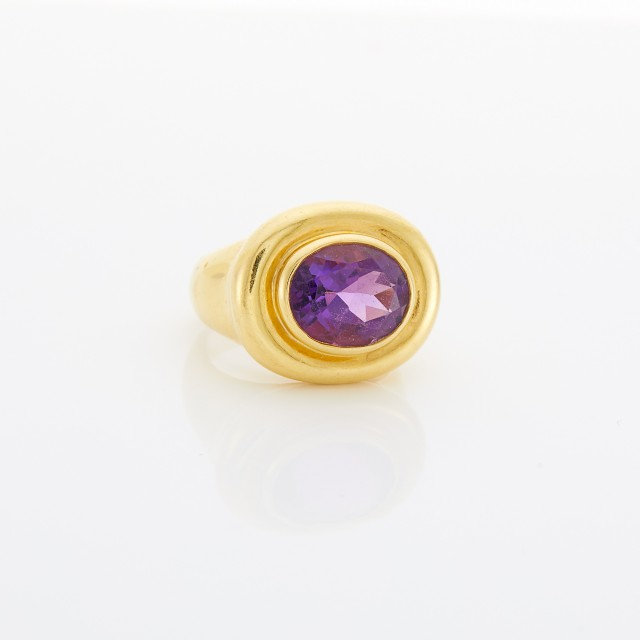 Gold and Amethyst Ring, Paloma Picasso, Tiffany and Co.