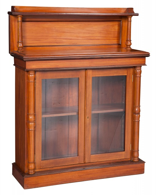 William IV Satinwood Side Cabinet