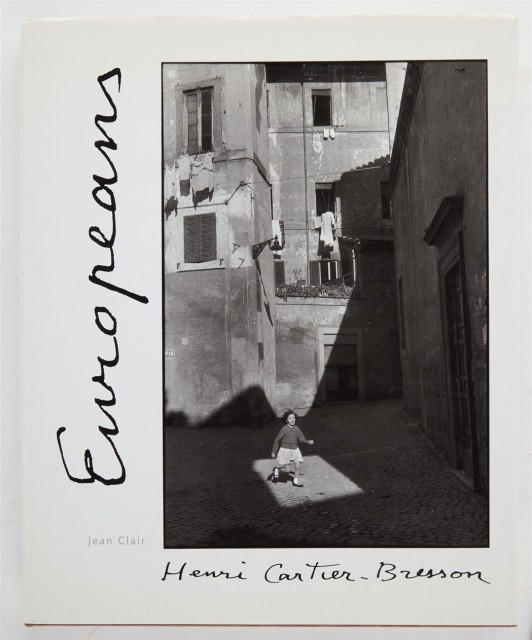 [SIGNED PHOTOBOOKS]  CARTIER-BRESSON, HENRI. Three volumes inscribed to Anne Horton.