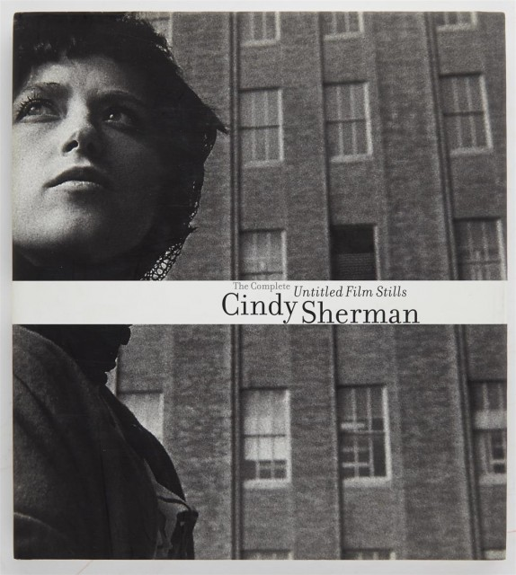 [SIGNED PHOTOBOOKS]  SHERMAN, CINDY. The Complete Untitled Film Stills.