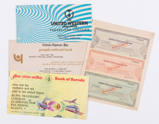 Travellers Cheques To India