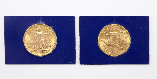 United States 1915 and 1924 St. Gaudens