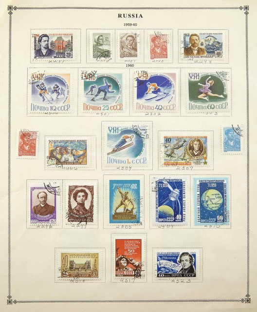 Russian Stamp Collection