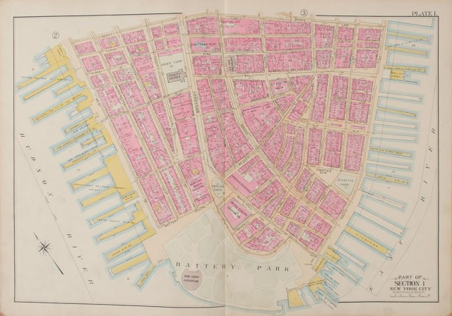 [MAPS]  BROMLEY, GEORGE W. and WALTER S. Atlas of the City of New York.