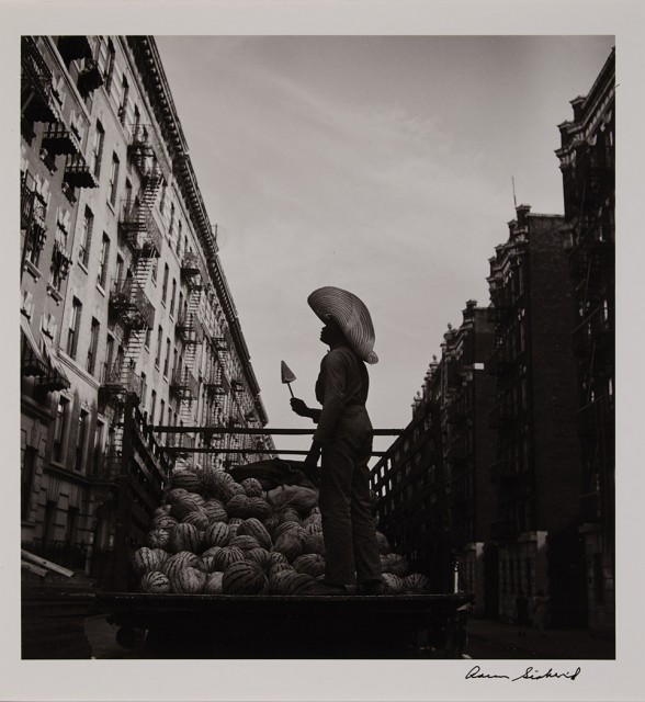 SISKIND, AARON (1903-1991)  [Watermelon Man], from the Harlem Series,