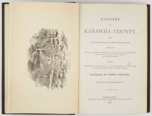 ATKINSON, GEO[RGE] W.  History of Kanawha County, from its organization in 1789 until the present time...