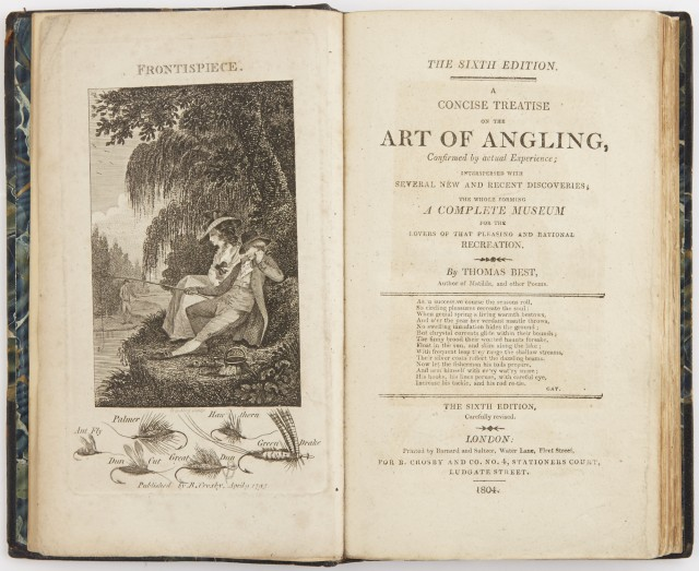 BEST, THOMAS  A Concise Treatise on the Art of Angling.