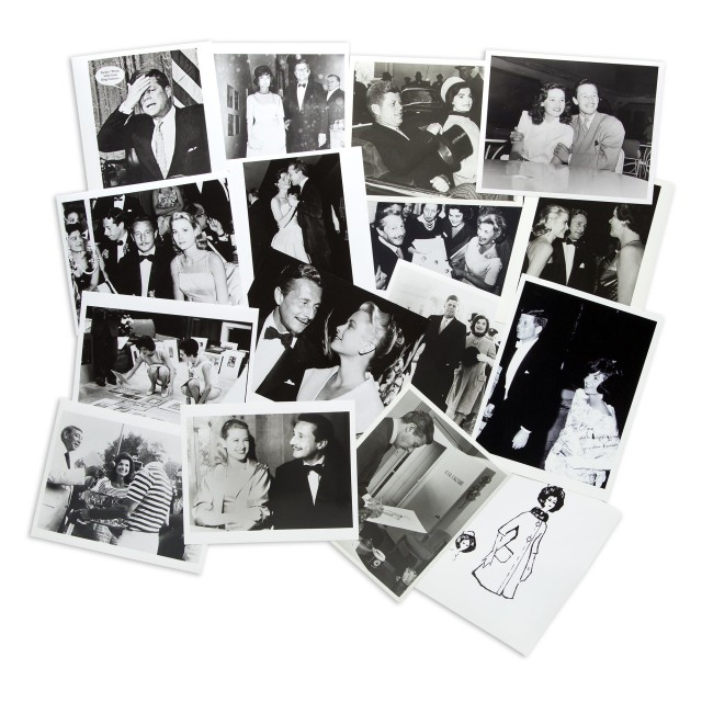 [CASSINI-PHOTOGRAPHY ARCHIVE]  Large photography archive documenting Cassini's career with many images of Jacqueline Kennedy, Grace Kelly, and Gene Tierney.