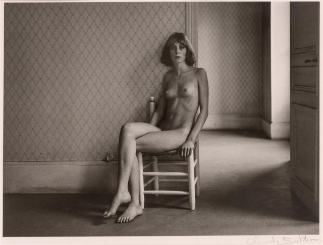 "BATHO, CLAUDE (b. 1935)  ""Catherine"" [Nude on chair]"