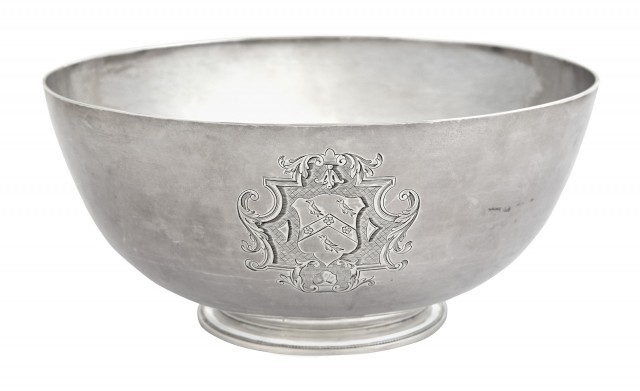 George II Sterling Silver Footed Bowl