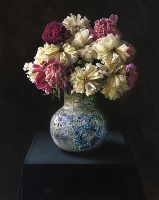 BARIL, TOM  Peonies,