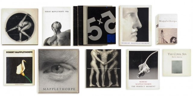 MAPPLETHORPE, ROBERT (1946-1989)  One inscribed volume and twelve other books on the artist.