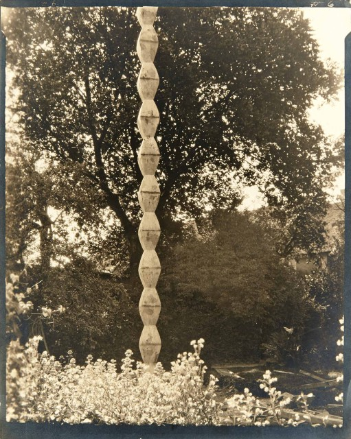 STEICHEN, EDWARD J. (1879-1973)  Brancusi\'s Endless Column