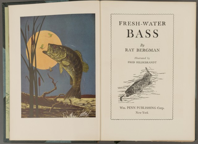 BERGMAN, RAY  Fresh-Water Bass.