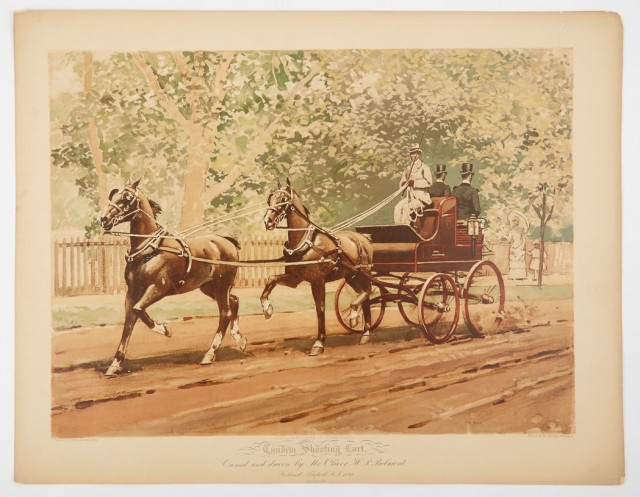 STEELE, MILFORD H.  Sporting Incidents: Being a Collection of Sixteen Plates done in color with numerous smaller cuts representing the most important events of the track field and road...