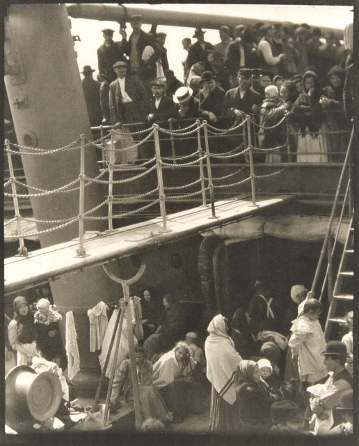 STIEGLITZ, ALFRED (1864-1946)  [The Steerage],