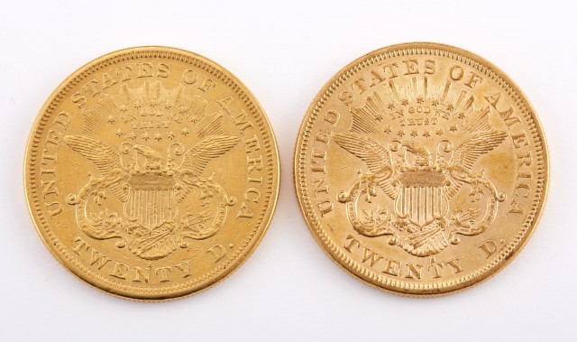 United States TWENTY D Liberty Head Double Eagle