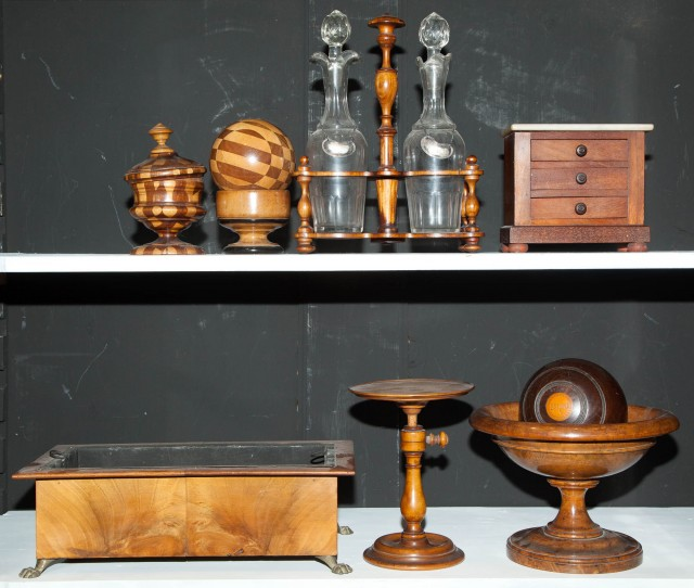 Group of Treen Articles