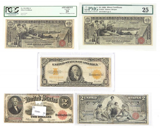 United States Large Size Bank Note Group