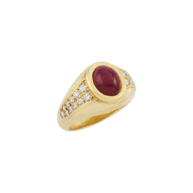 Gold, Ruby and Diamond Ring, Cartier, Paris