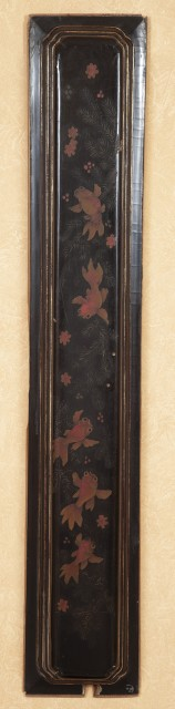 Pair of Japanese Wood Panels