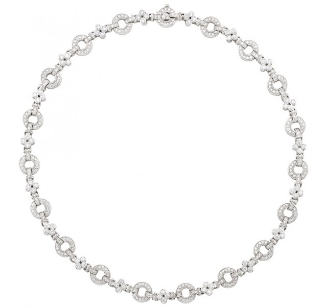 White Gold and Diamond Necklace, Judith Ripka