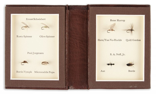 HARROP, RENE and JORGENSEN, POUL and others  A Book of Small Flies