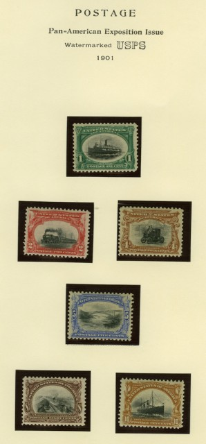 United States Commemorative Issues, 1901 to 1992