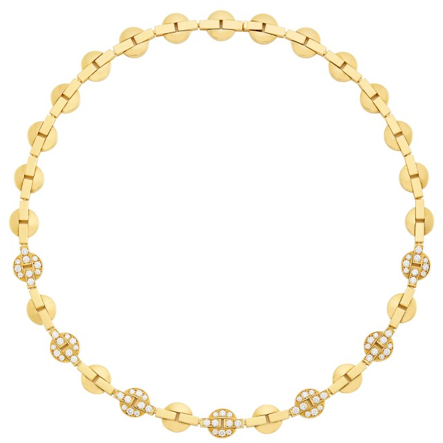 Gold and Diamond Necklace, Cartier