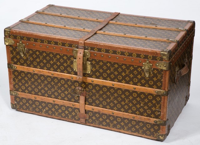 Louis Vuitton Leather Trunk