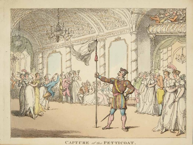 "(ROWLANDSON, THOMAS)  Petticoat Loose: A Fragmentary ""Tale of the Castle."" Embellished with Plates."