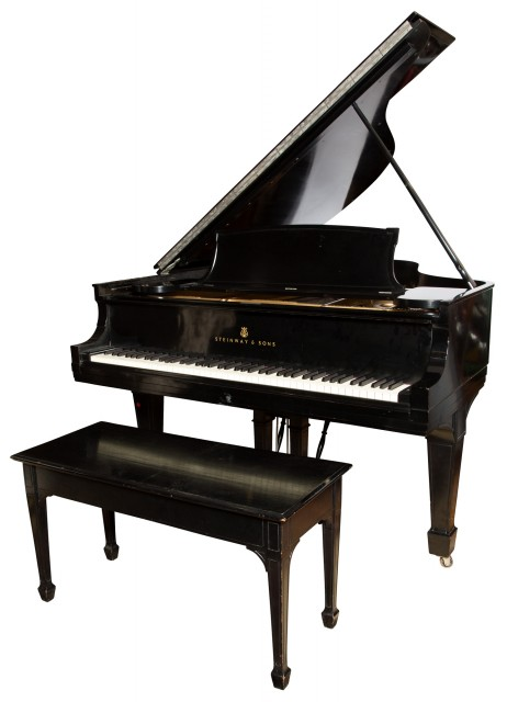 Steinway Ebonized Model M Piano