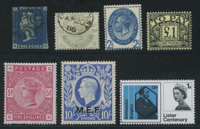 Great Britain and Channel Island Stamp Collections