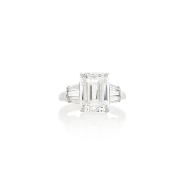 Kwiat Platinum and Diamond Ring