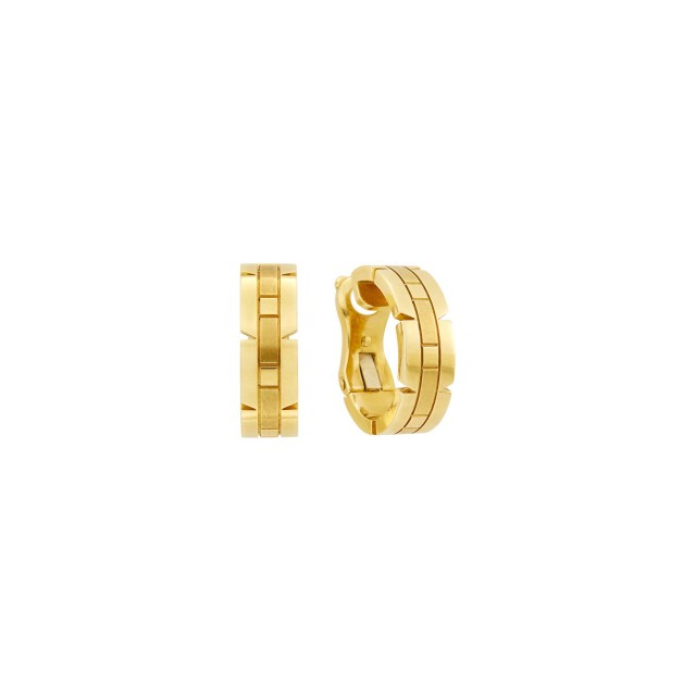 Cartier Pair of Gold 'Panthère' Earclips