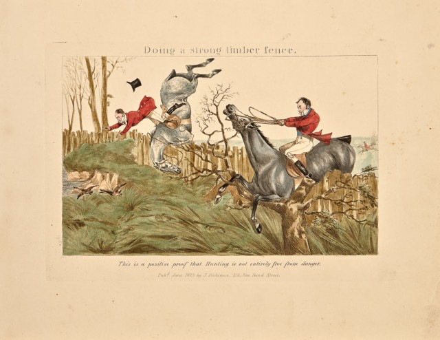 ALKEN, HENRY  Characteristic Sketches of Hunting with caricatures of Middlesex sporting.