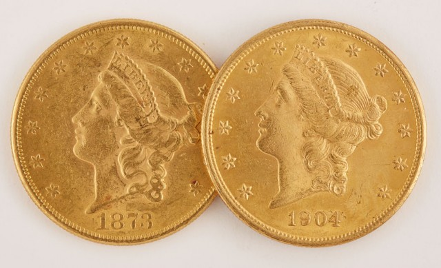 United States $20 Liberty Heads