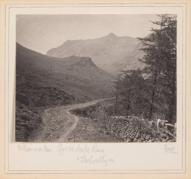 EVANS, FREDERICK D. (1853-1943)  Ulleswater, Grisedale Pass, Helvellyn