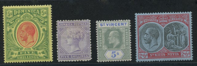 British Caribbean Stamp Collections