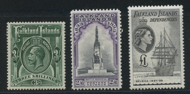 Falkland Islands and Dependencies Stamp Collections
