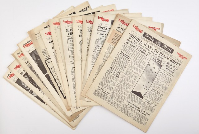 [NEWSPAPERS]  Large archive of newspapers.